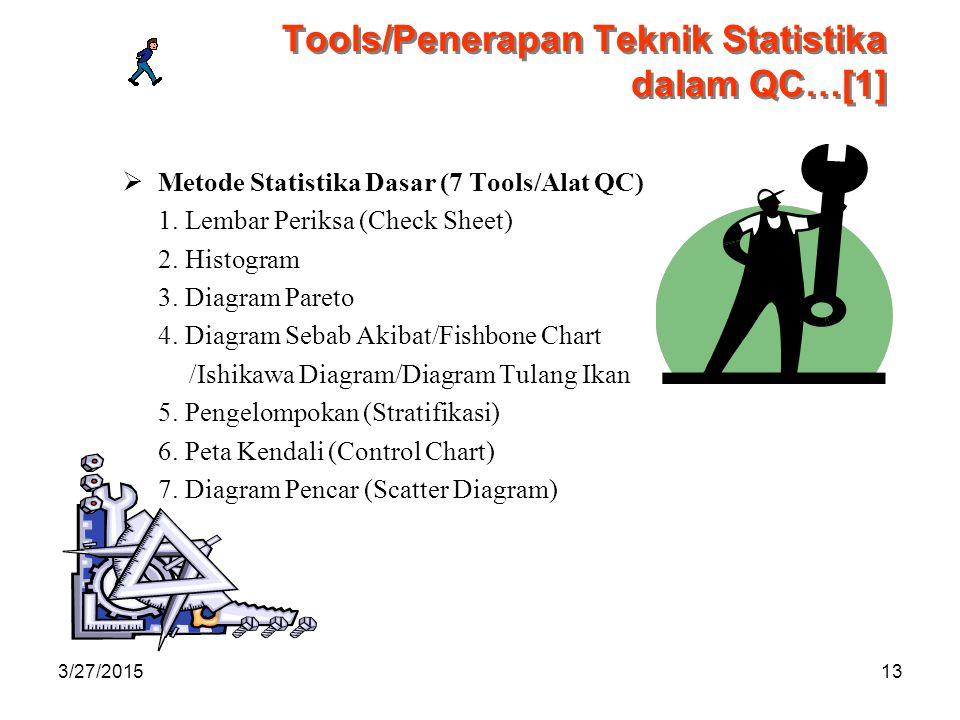 Tools/Penerapan Teknik Statistika dalam QC…[1]